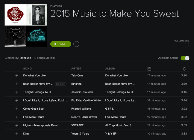 10 Songs to Help Kick your Workout into High Gear!